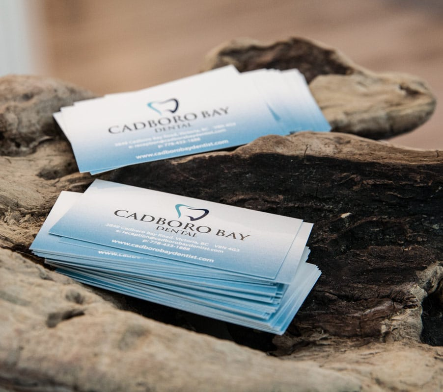 Cadboro Bay Dental Business Cards