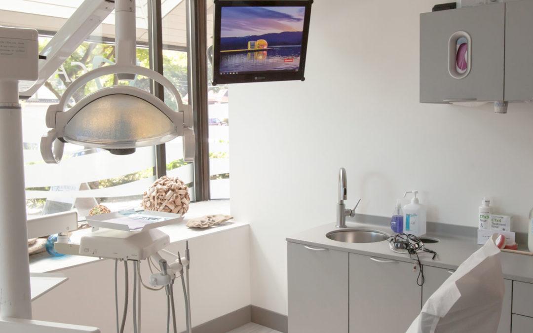 Dental Office Interior of Cadboro Bay Dental